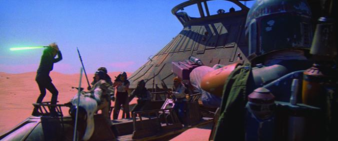 Kampf gegen Jabbas Leute