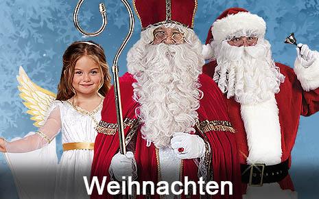 Nikolaus Kostüme Weihnachtsmann Santa Clause Engel Christkind Krippenspiel