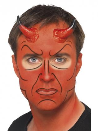 Mann mit rotem Gesicht