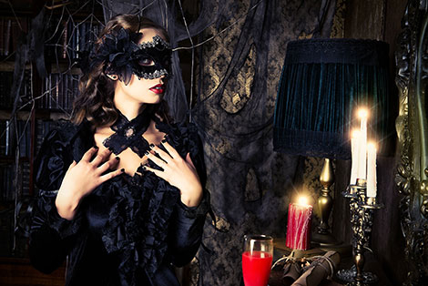 Vampir Kostüm für Damen