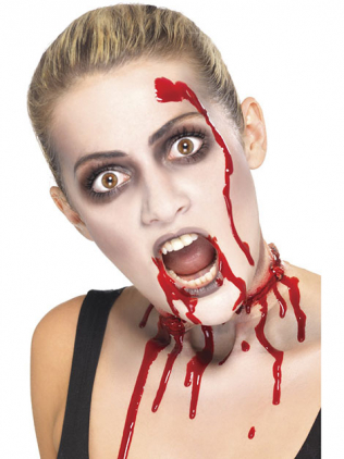 Zombie Frau schminken
