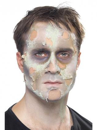 Zombie Schminken Hautfetzen gestalten