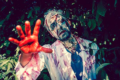 Zombie Mann Kostüm