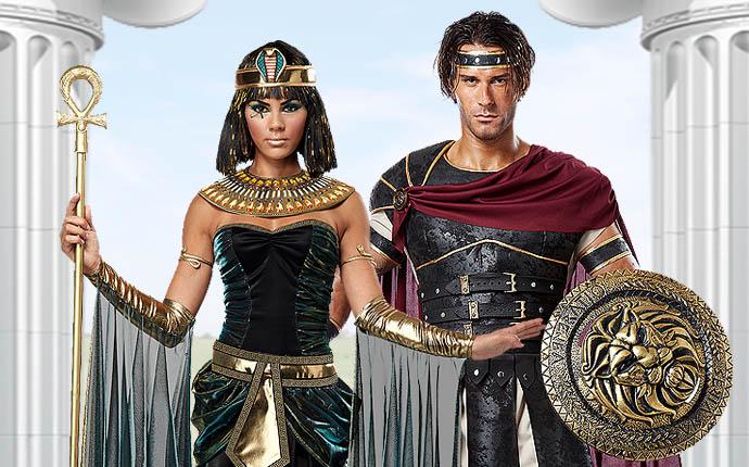 Antike Rom Römer Cleopatra Caesar Togaparty Gladiatoren Legion Götter Göttin Pharao