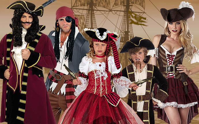Piratenkostüme Sommerparty