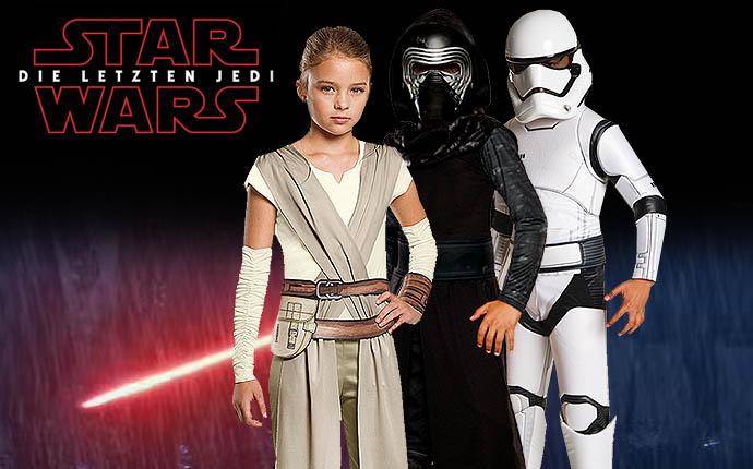 Star Wars Kostüme Krieg der Sterne Stormtrooper Clone Wars