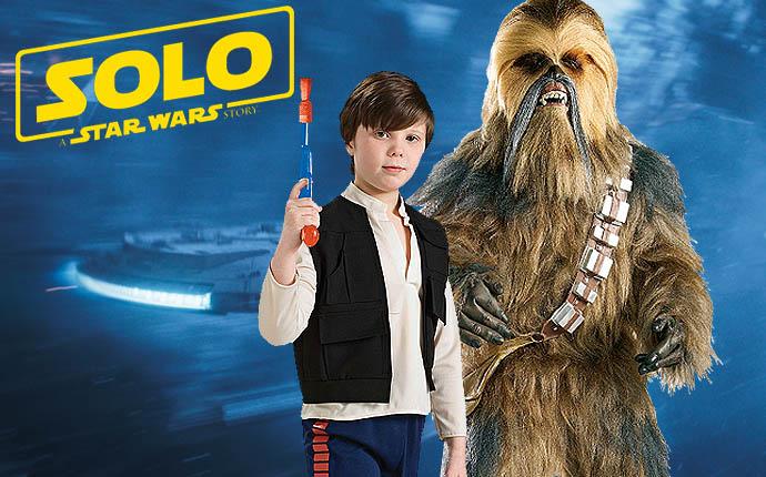 Solo Star Wars Story Filmkostüme Lizenzkostüme Disney Lucasfilm Krieg der Sterne