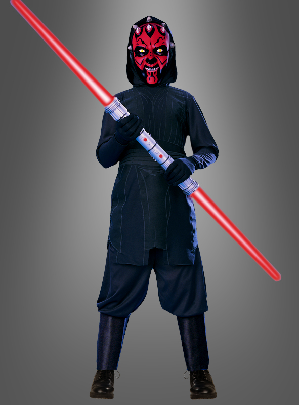 original star wars darth maul kinderkost m sith krieger clone wars lizenzkost m ebay. Black Bedroom Furniture Sets. Home Design Ideas