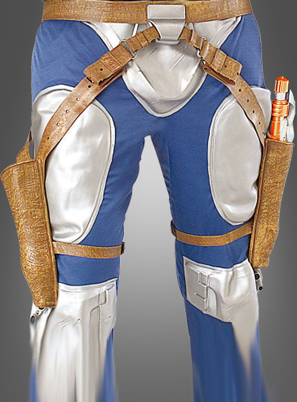 how to put on jango fett holster