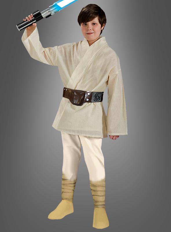 Deluxe Luke Skywalker Star Wars Bambini Costume Vestito di carnevale per ragazzi