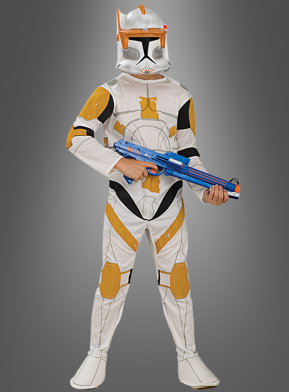 clone trooper commander cody kinderkost m star wars clone wars karneval ebay. Black Bedroom Furniture Sets. Home Design Ideas
