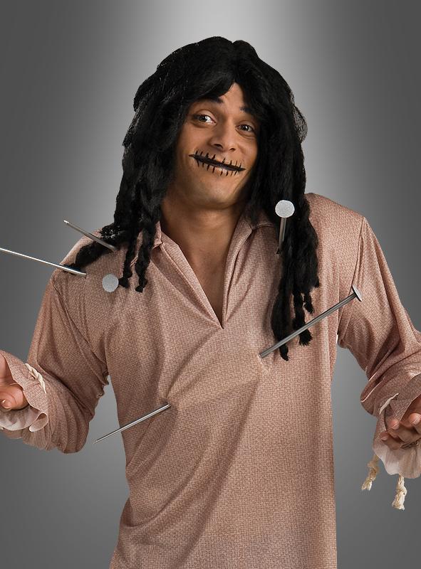 voodoopuppe halloween kost m f r herren. Black Bedroom Furniture Sets. Home Design Ideas