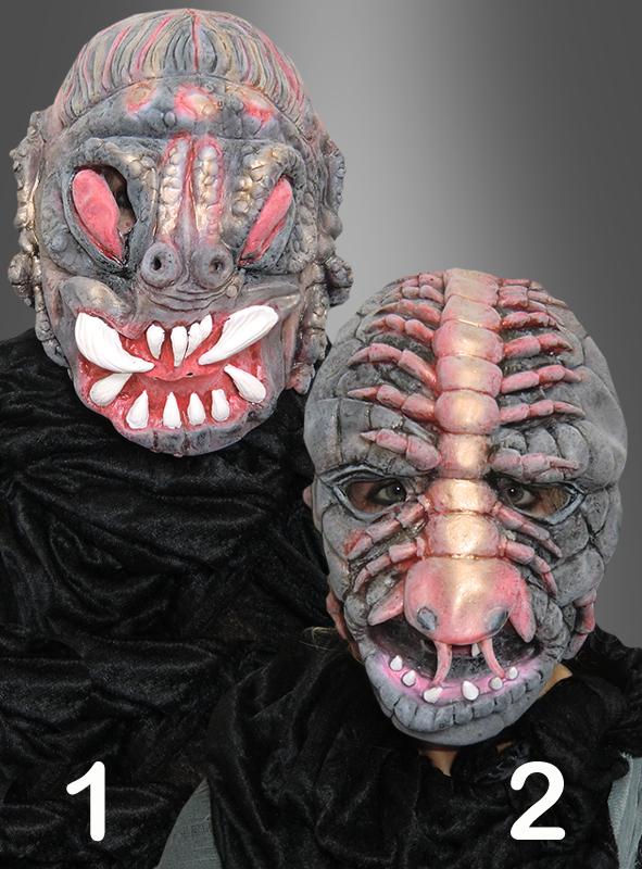 horrormasken insekten monster. Black Bedroom Furniture Sets. Home Design Ideas