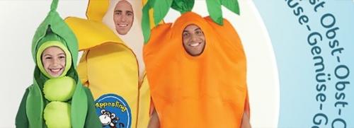 Obst & Gemüse Kostüme